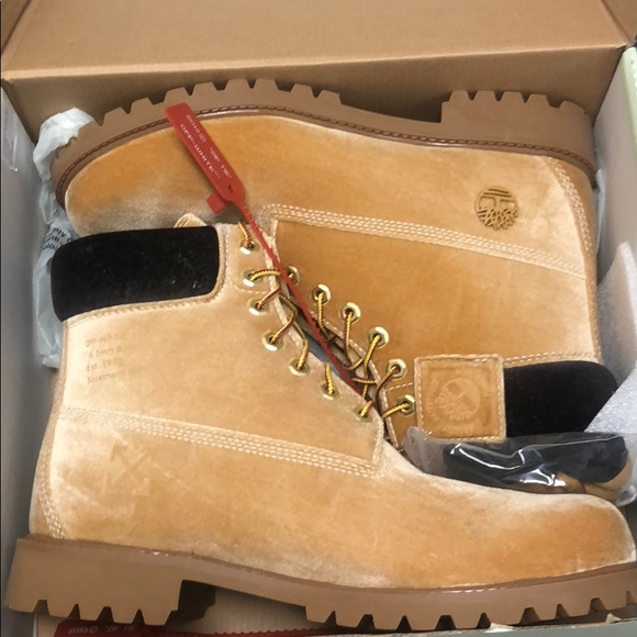 OFF WHITE X TIMBERLAND BOOTS BRAND NEW in box NWT
